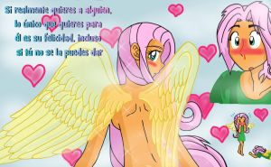 Que linda eres Fluttershy by reina-del-caos