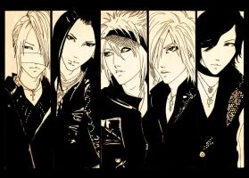 The GazettE by ShujiE