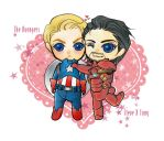The Avengers:Steve and Tony by yujing229