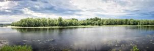 danube landscape by oblious
