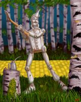 The Tin Woodsman by DLTabor