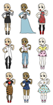 Clothing for youu Adopts - Closed by Supertato