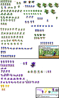 Scourge The Hedgehog Sprite Sheet :UPDATED AGAIN: by FlameBurstAnimations