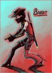 Bandit by TheFlamingZebra