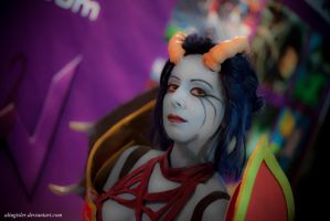 queen of pain cosplay ti4 - photo #26