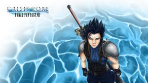 Zack Fair (wallpaper) - F. F. VII Crisis Core by zoe-silver