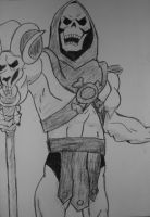He-Man: Skeletor by CpointSpoint