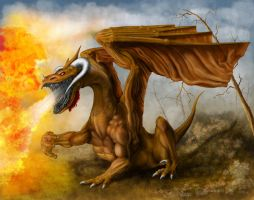 Fire Breathing Dragon by alleswp
