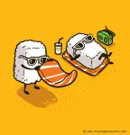 Summer Sushi by flyingmouse365