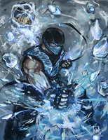Scorpion vs Subzero 2 by bulletproofturtleman