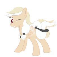 OC Pony: Half Pint by JunkiesNewb