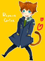 rupert cat by bbcchu