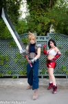 Cloud and Tifa Amano by The-Final-Distance