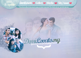 Demi Lovato Header 2 by crucioimpedimenta