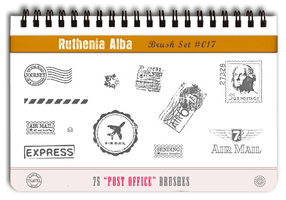 Brushset 17: Post Office by Ruthenia-Alba