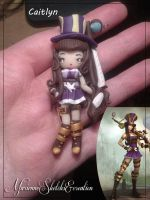 Caitlyn, the Sheriff of Piltover - Handmade by DarkettinaMarienne