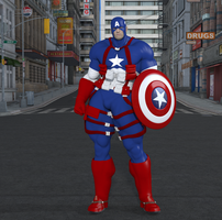 Captain America by CMKook-24601