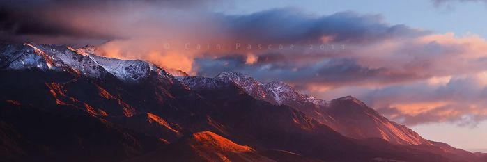 Kaikoura Ranges by CainPascoe