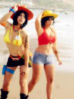 ACE and LUFFY by dashcosplay