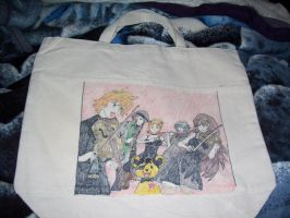 World Destruction tote bag by shades-chan