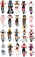 Kenomimi Adoptable Batch [1 POINT/OPEN] by makeradopts