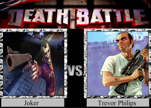 Joker vs. Trevor Philips by JasonPictures