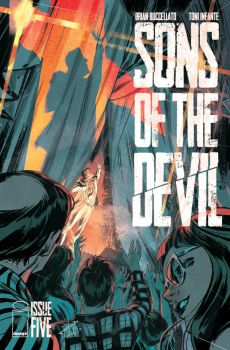 Sons of the devil #5 Cover by toniinfante