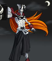 Vasto Lorde Ichigo by CrimsonCypher