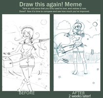 Memey meme: Draw this again! by AbstractedFox
