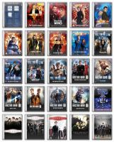 Doctor Who and Torchwood Folder Icons by Ms-Marvel-Avenger