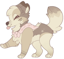 !! a puppy by foxiin