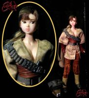 Leia Organa Boushh Disguise by jvcustoms