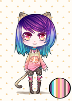 Adoptable NEW DISCOWNT!price: 400 POINTS by JennaTenshi