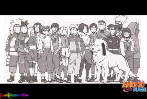 Naruto Shippuden- How much they've grown by Meg-L-Walker