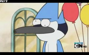 Mordecai derp by Sophy-Chan77
