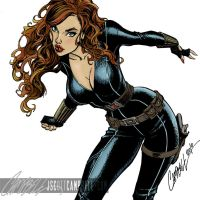 Black widow by J. Scott Cambell by cgbutler