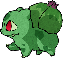 Bulbasaur WWS by the19thGinny