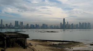 Downtown Panama City, Panama by jeffrade