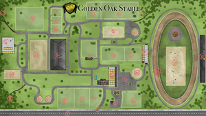 Golden Oak Stablemap by Saerl