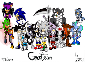 (OLD) official GHOST TEAM (2011) by drakughost