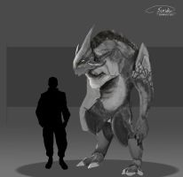 Creature Concept. by Concept-Cube