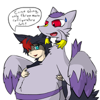 Rich, you little by Hikara-the-Mienshao