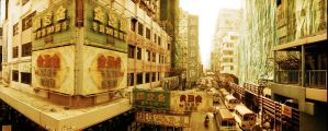 Hong Kong passageways, to Mong KoK by CorsoDomenic