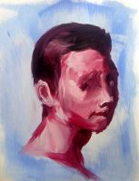Marc - Oil Study by justcallmemike