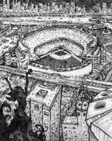 Meanwhile at Yankee Stadium by McQuade