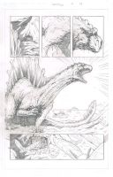 Durontus Rising Page 14 Pencils by KillustrationStudios