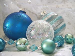 Blue Christmas by KathyBerger