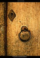 Door to Kitchen by krishnachandranu