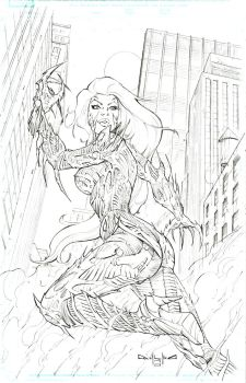 Witchblade by qualano