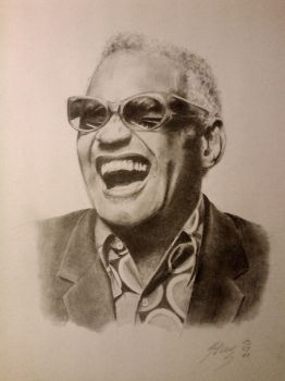 Ray Charles by Barsini